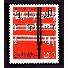 Buy German MNH Scott #849 Catalog Value $.30