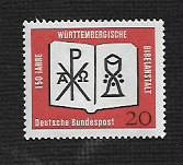Buy German MNH Scott #851 Catalog Value $.30