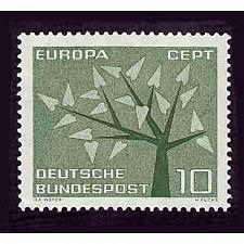 Buy German Hinged Scott #852 Catalog Value $.25