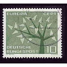 Buy German Used Scott #852 Catalog Value $.25