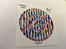 Buy France Art Y. Agam painting 1980 mnh