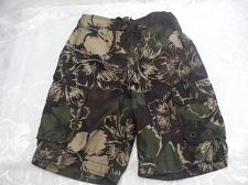 Buy Boys Green Board Shorts Swimming Trunks Size S/P 7-8 George 100 Polyester
