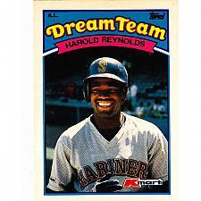 Buy Harold Reynolds #13 - Mariners 1989 Topps Baseball Trading Card