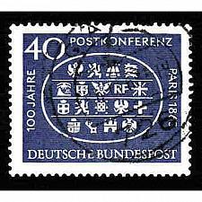 Buy German Used Scott #863 Catalog Value $.50