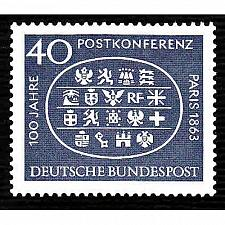 Buy German MNH Scott #863 Catalog Value $.40