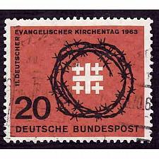 Buy German Used Scott #866 Catalog Value $.35