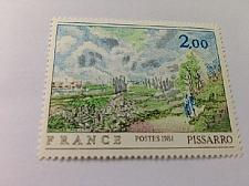 Buy France Art Painting Camille Pissarro 1981 mnh