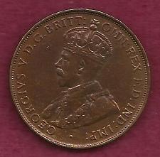 Buy AUSTRALIA 1 Penny 1933 Coin - Bronze - Commonwealth of Australia