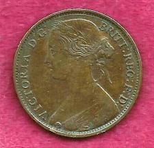 Buy GREAT BRITAIN 1 Penny 1861 COIN - Queen Victoria