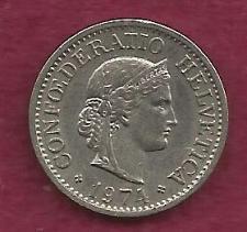 Buy SWITZERLAND 10 RAPPEN 1974 COIN - Libertas Goddess of Liberty Coin