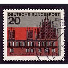 Buy German Used Scott #869 Catalog Value $.30