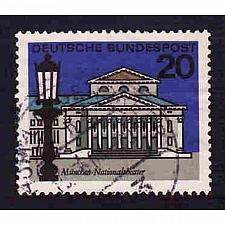 Buy German Used Scott #872 Catalog Value $.30