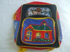 Buy Red And Yellow Kids Back To School Bag With Adjustable Shoulder Straps