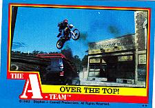 Buy Over the Top #37 - A-Team 1983 Trading Card