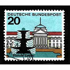 Buy German Used Scott #873 Catalog Value $.30