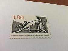 Buy France Fencing 1981 mnh