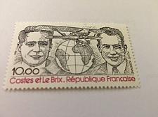 Buy France Famous Costes et Le Brix aviators 1981 mnh