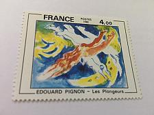Buy France Art Painting Edouard Pignon 1981 mnh