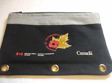 Buy Collectors Pencil Case Veteran's Affairs Canada Black For 3 Ring Binder