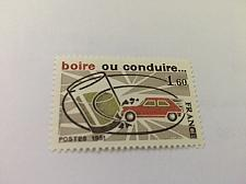 Buy France Alcohol & driving 1981 mnh