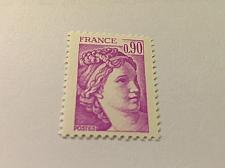 Buy France Definitive Sabine 0.90 mnh 1981