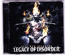 Buy Last Man Standing by Legacy of Disorder CD 2012 - Very Good