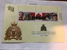 Buy Canada Mounted police s/s Italia mnh 1998