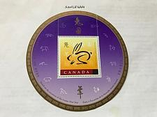 Buy Canada Year of the Rabbit s/s mnh 1999 overp.