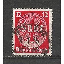 Buy German Used Scott #445 Catalog Value $.60