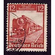 Buy German Used Scott #460 Catalog Value $.75