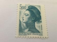 Buy France Definitive Liberte' 5.00 mnh 1982