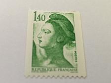 Buy France Definitive Liberte' 1.40 coil mnh 1982
