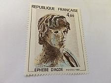 Buy France Art Ephebe d'Agde sculpture 1982 mnh