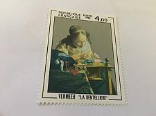 Buy France Art Vermeer painting 1982 mnh