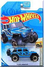 Buy Hot Wheels - '17 Jeep Wrangler: Baja Blazers #2/10 - #13/250 (2019) *Blue*