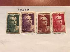 Buy France Marianne set of 4v. 1945 mnh