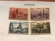Buy France Ruins of the French Cities mnh 1945