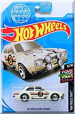 Buy Hot Wheels - '70 Ford Escort RS1600: HW Race Day #6/10 - #102/250 (2019) *White*