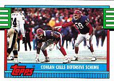 Buy Conlan Calls Defensive #503 - Bills 1990 Topps Football Trading Card