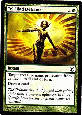 Buy Tel-Jilad Defiance - Green - Instant - Magic the Gathering Trading Card