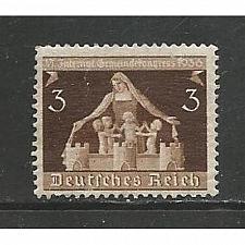 Buy German Hinged Scott #473 Catalog Value $.50