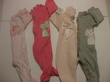 Buy Lot of 4 Girls Rompers 6 Months Cotton Blend