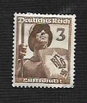 Buy German Hinged Scott #481 Catalog Value $.50