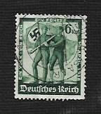 Buy German Used Scott #484 Catalog Value $.65