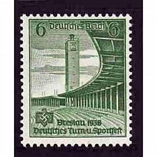 Buy German Hinged Scott #487 Catalog Value $.30