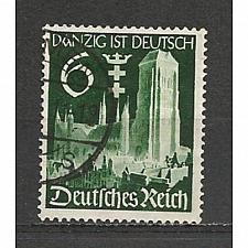 Buy German Used Scott #492 Catalog Value $.80