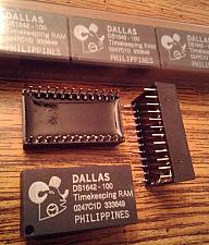 Buy Lots of 14: DALLAS DS1642-100 Timekeeping RAM