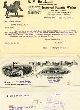 Buy - Washing Machines - Vintage Companies - Early 1900s - See Scans