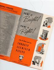 Buy - ALCOA - 1950 - Rare - Aluminum Paint Materi