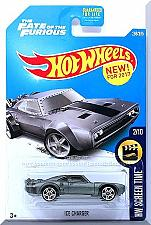 Buy Hot Wheels - Ice Charger: HW Screen Time #2/10 - #266/365 (2017) *Dark Gray*